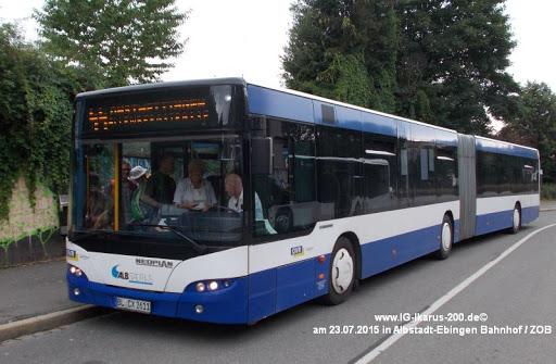 Centroliner der Ovr Omnibusverkehr Ruoff in Albstadt