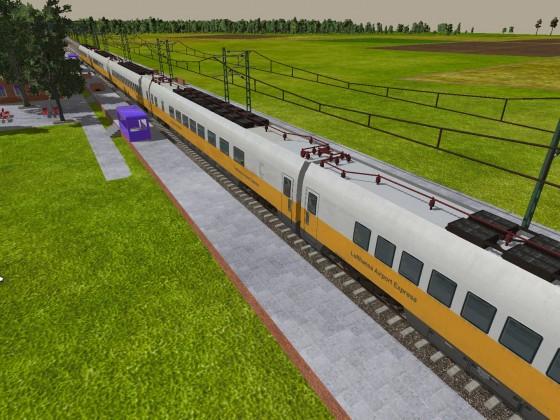 Umleiter Verkehr, Züge verfahren sich auf S-Bahn Strecke