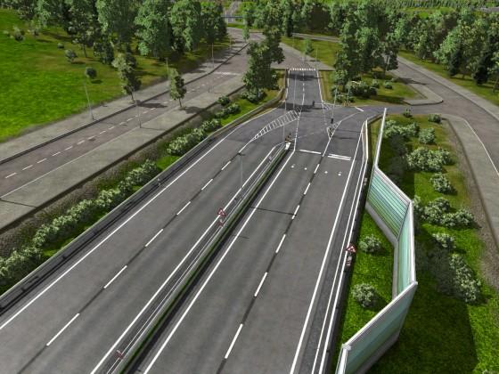 Autobahnende 1