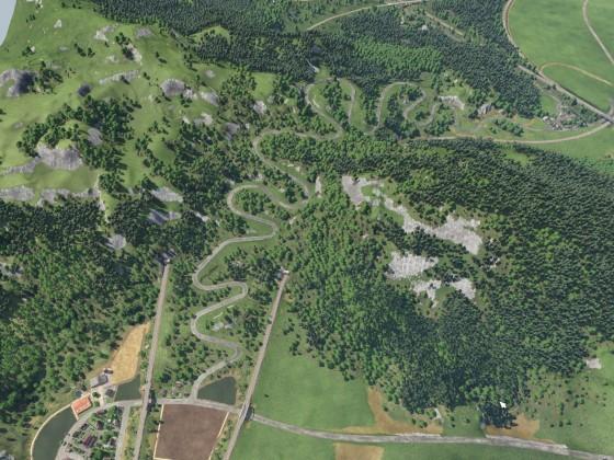 Serpentinen im Schwarzwald