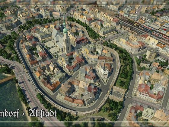 Jägerndorf - Altstadt (bearbeitet)