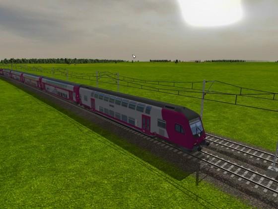 Der erste Zug von tf|net REGIO wurde ausgeliefert.