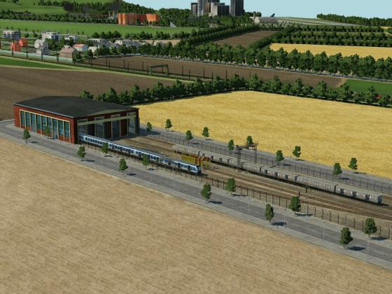 Mini-U-Bahn-Depot