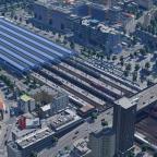 Hauptbahnhof und Umgebung