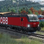 BR 1293 Vectron mit Güterzug