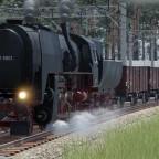 Baureihe 42.90 bei der Ausfahrt