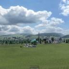 Sicht übers Wiggertal von Strengelbach her