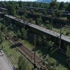 Train Graveyard in Russia #3