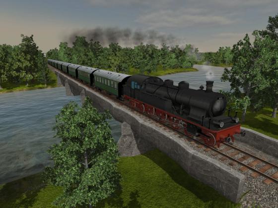 78er über den Fluss