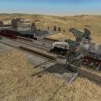 auch das Kohlebergwerk konnte ausgebaut werden