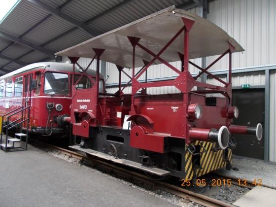 Akkumulatoren-Kleinlokomotive Ka 4013