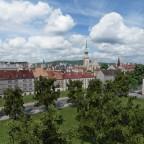 Schützenmatt und die Ostseite der Stad