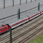 DB Autozug tritt seine Rückreise an