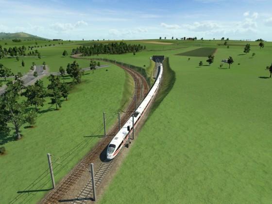 DIe Abkürzung zwischen Meyenburg und Waldenburg