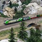 An der Güterstrecke