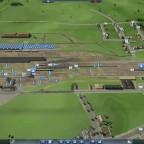 Bastelzeit am Bahnhof 1900 - Überblick des nächsten Bauabschnittes 01