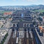 Südbahnhof mit Weitblick