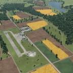 Blick auf den historischen Regionalflugplatz 2