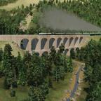 Viadukt wie am Semmering
