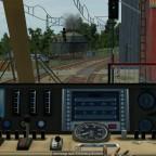Gleisbaustelle aus TF Sicht