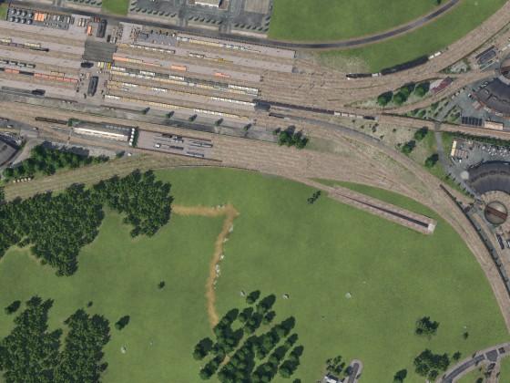 Güterbahnhof Draufsicht mitlerweile