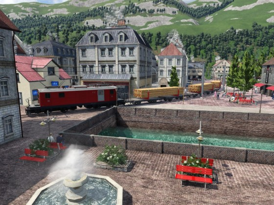 Güterverkehr durch die Altstadt