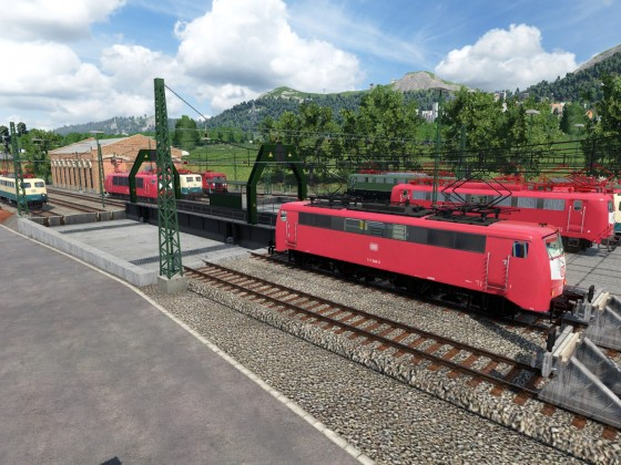 Bahnbetriebswerk Kronstadt