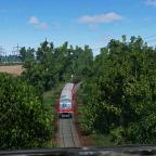 RE1307 auf den Weg nach Armsheim