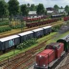 Fertiger Güterbahnhof 1
