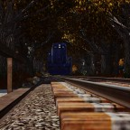 """""""Central of NJ"""" GP7 in the autumn forest"""