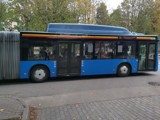Gelenkbus Klaipeda
