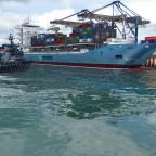 Erste Gehversuche im Hafenthema
