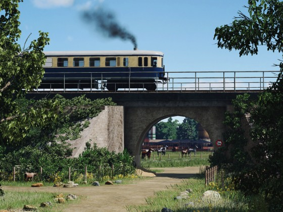 [TpF1] Ö​​BB​ 5042 near the horse farm