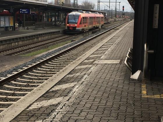 Hauptbahnhof Göttingen - RE