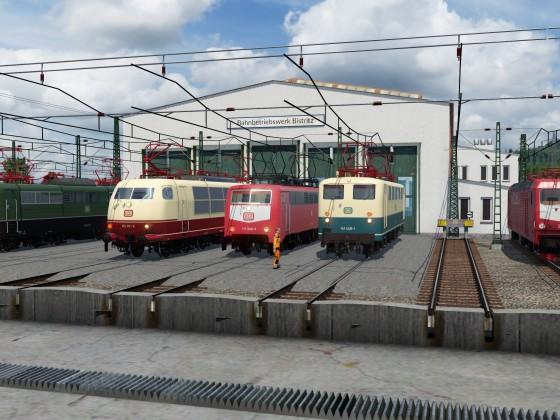 Bahnbetriebswerk Bistritz