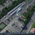 Dorf Zwischenhalt