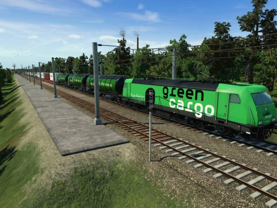 Green Cargo Intermodal train