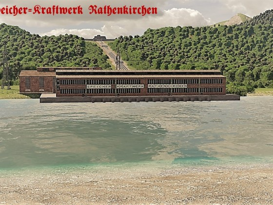 Wasserspeicherkraftwerk Rathenkirchen