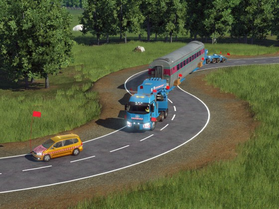 [MOD preview]-Oversize transportation ~ Finished test.  lol