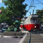 [TpF1] Wien Type E6 on the small city street