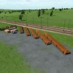 Baustelle an der S-Bahnstrecke