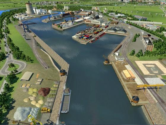 Köln / 2050 Niehler Hafen