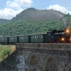 Sächsische Schmalspur Personenzug