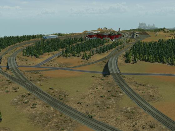 American Train Yard 2.0 WIP