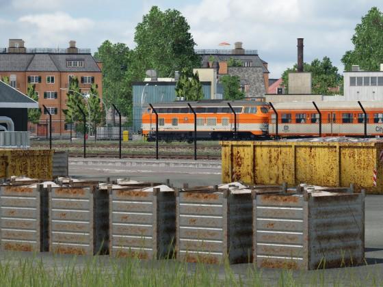 Blick in die Nidegger Altstadt