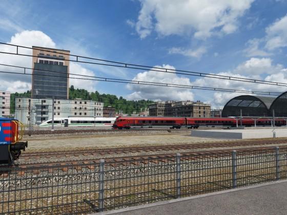 train spotting: internationaler Verkehr in der Schweiz