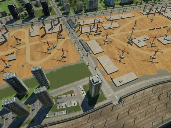 Großbaustelle am Hauptbahnhof