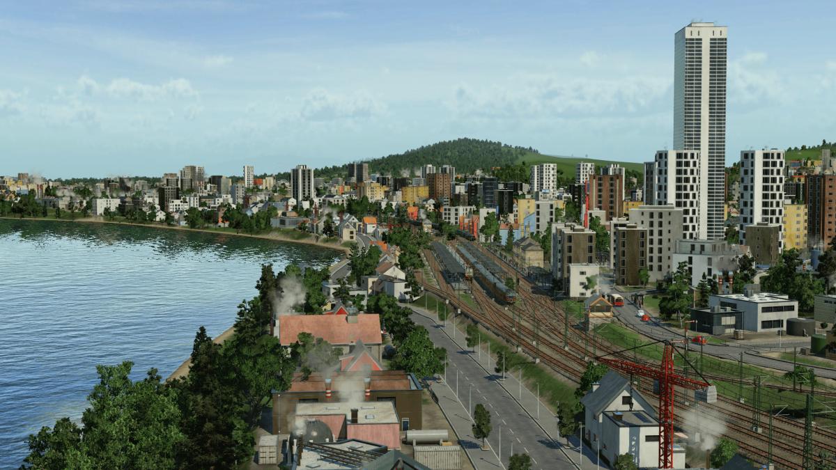 Der Bahnhof von Vaterstetten.