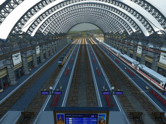 Neuer Hauptbahnhof eröffnet
