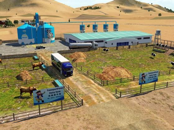 [MOD preview] - Dairy farm MOD